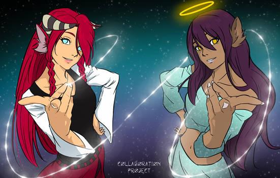 Collaboration Project   Yuu-ra and Rinhea