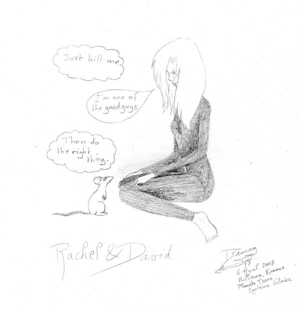 Fanarts Rachel_and_David_by_Dameg