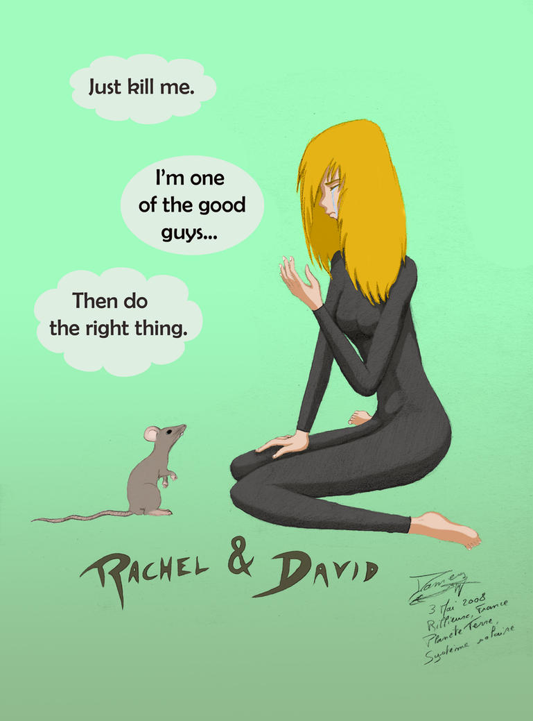 Fanarts Rachel_and_David_2_colored_by_Dameg