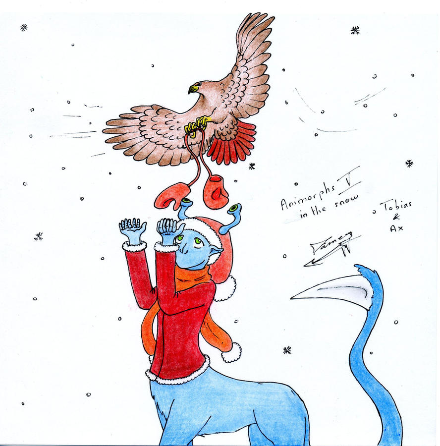 Fanarts Animorphs_in_the_snow_5_by_dameg-d379jjb
