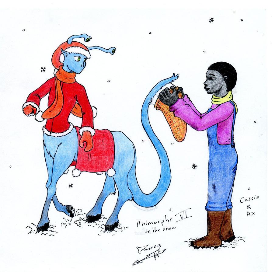 Fanarts Animorphs_in_the_snow_6_by_dameg-d379k0t