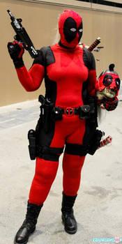 Cosplay  Lady Deadpool