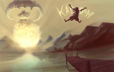 Kaboom by wasted-rebel
