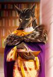Halfbody commission by MitsuneTheKitsune