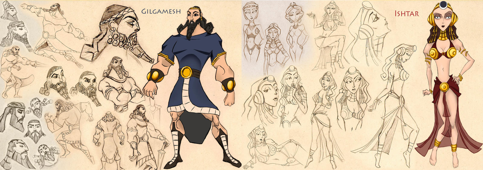 the character of gilgamesh in the epic of gilgamesh The epic of gilgamesh is written in none of the three characters gilgamesh meets in this tablet recognize him when they see him and no other versions to.