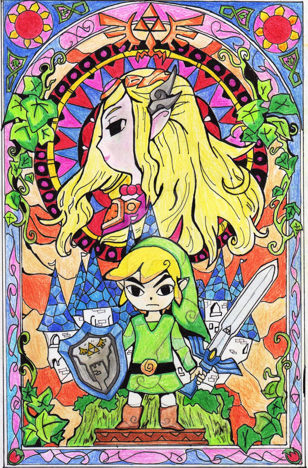 The-Legend-Of-Zelda by thedarksoldier444