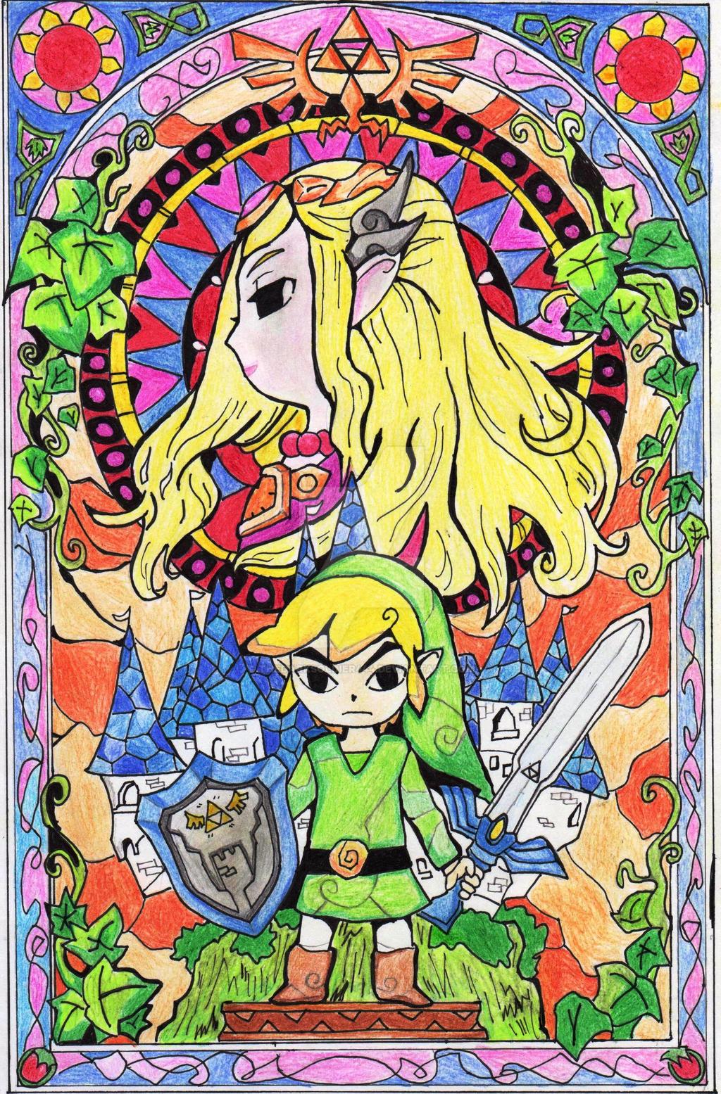 The-Legend-Of-Zelda by thedarksoldier444