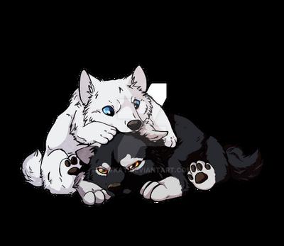 Chibi puppy by LewKat