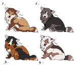 Adopt _ Wolf pups____ closed by LewKat