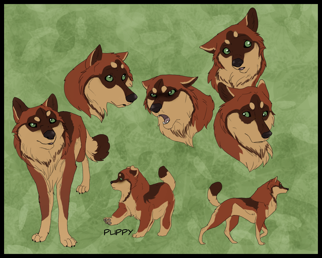 Wolf adoptable Closed by Lew-LapinGris