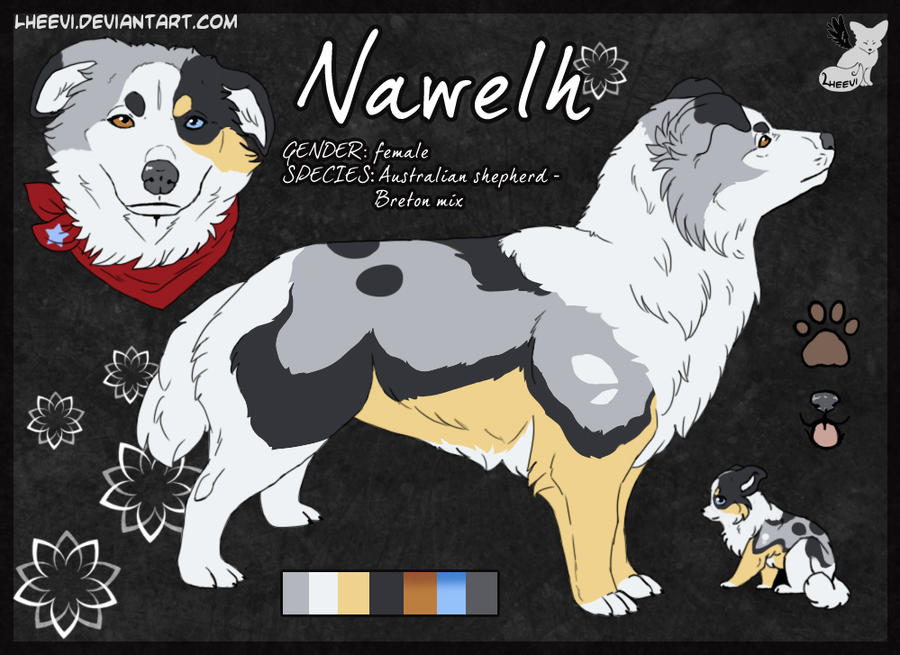 Nawelh __Character-sheet by LewKat