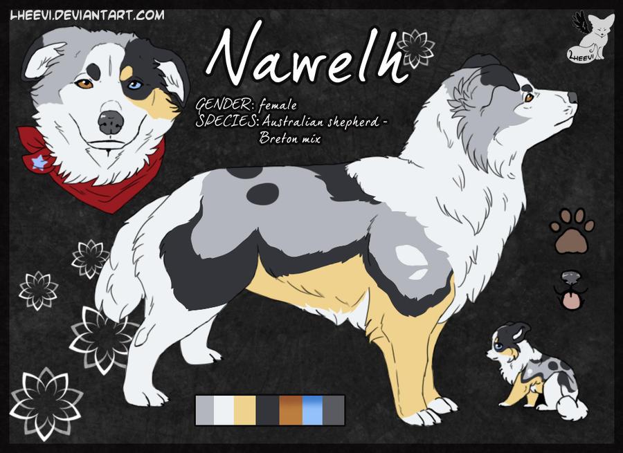 Nawelh __Character-sheet by LewKat
