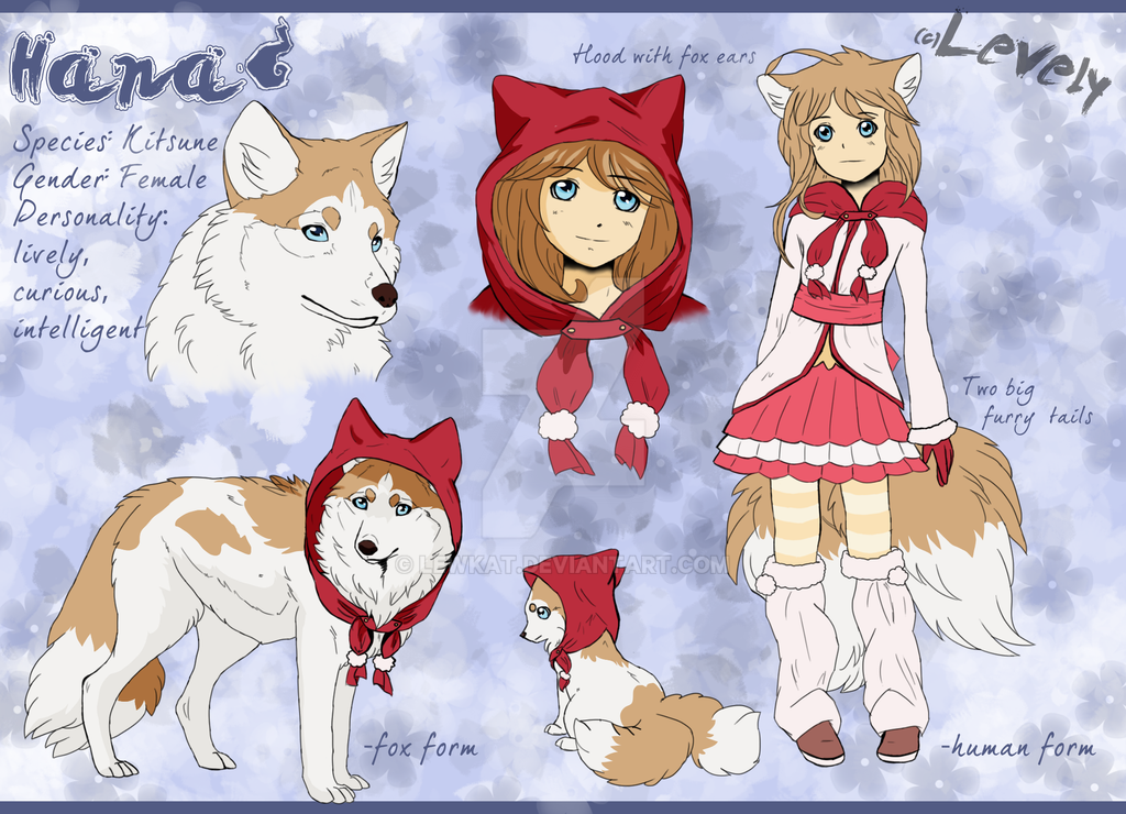 Hana-character sheet by LewKat