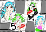 Random Girl Colouring