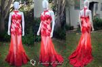 Phoenix Flames Tropics Gown