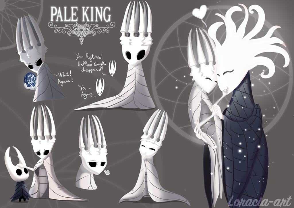 Hollow Knight The Pale king by Loracia-art on DeviantArt