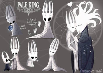 Hollow Knight The Pale king by Loracia-art