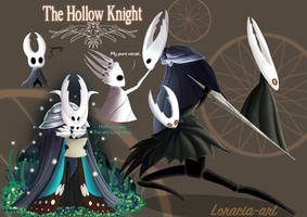 The Hollow knight Doodle by Loracia-art