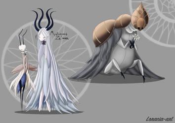 Mysterious Ze'mer Et Godseeker by Loracia-art
