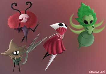 Hollow Knight Silksong doodle 1 by Loracia-art