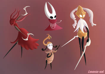 hollow Knight silksong doodle 4 by Loracia-art