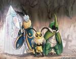 Bug Fables Team Snakemouth
