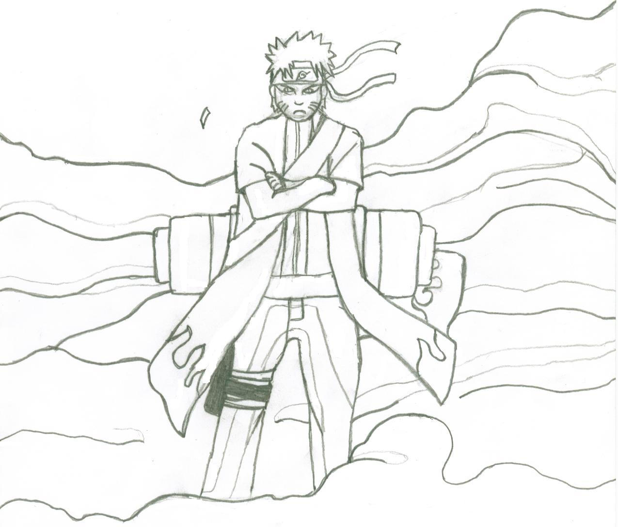 Naruto Sage Mode Demo by BlackFreedomGundam on DeviantArt