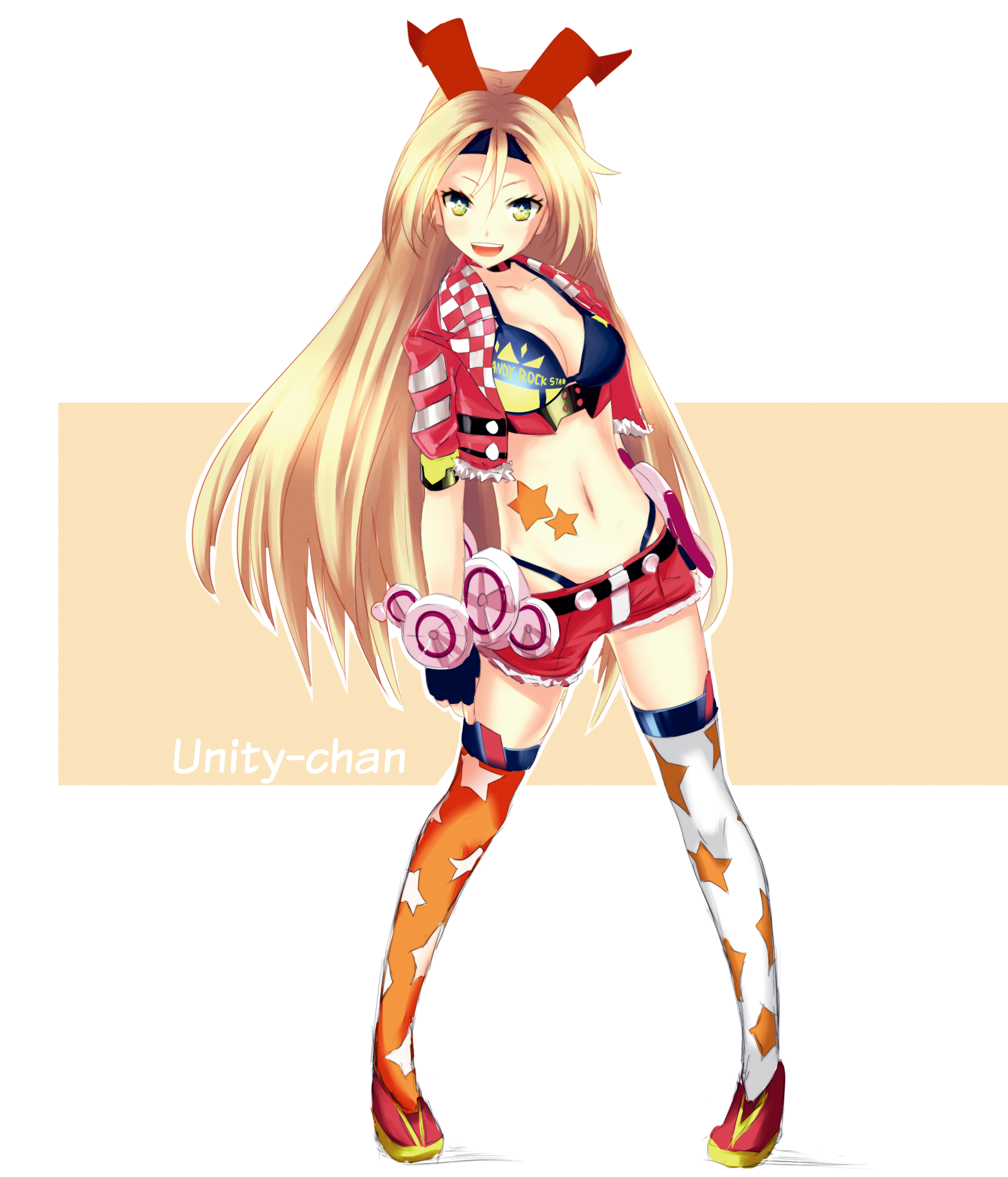 Anime Characters Unity : Colored sketch unity chan by rinine on deviantart