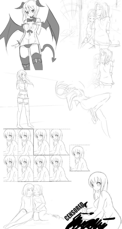 Doodle Dump 2 by Rinine