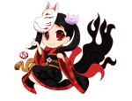 Commission - Chibi Kitsune