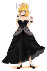 Bowsette by Rinine