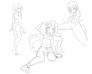 Random sketch by Rinine