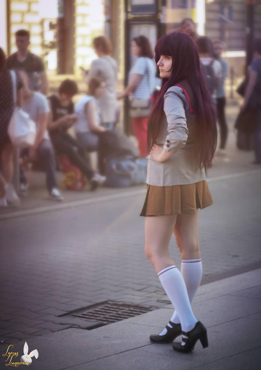 She is always late... baka Usagi! by LepusLunarem