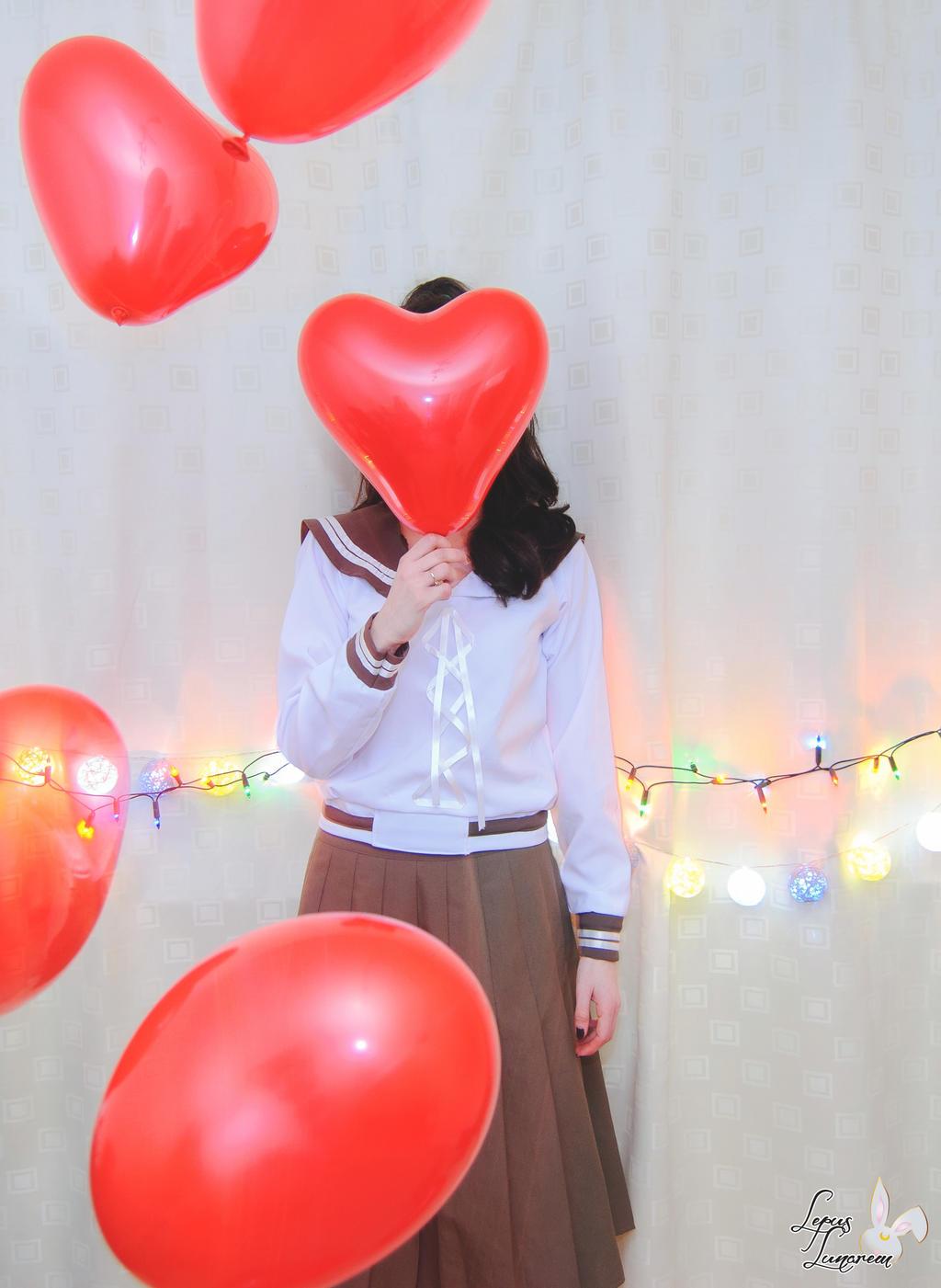 Love balloons by LepusLunarem