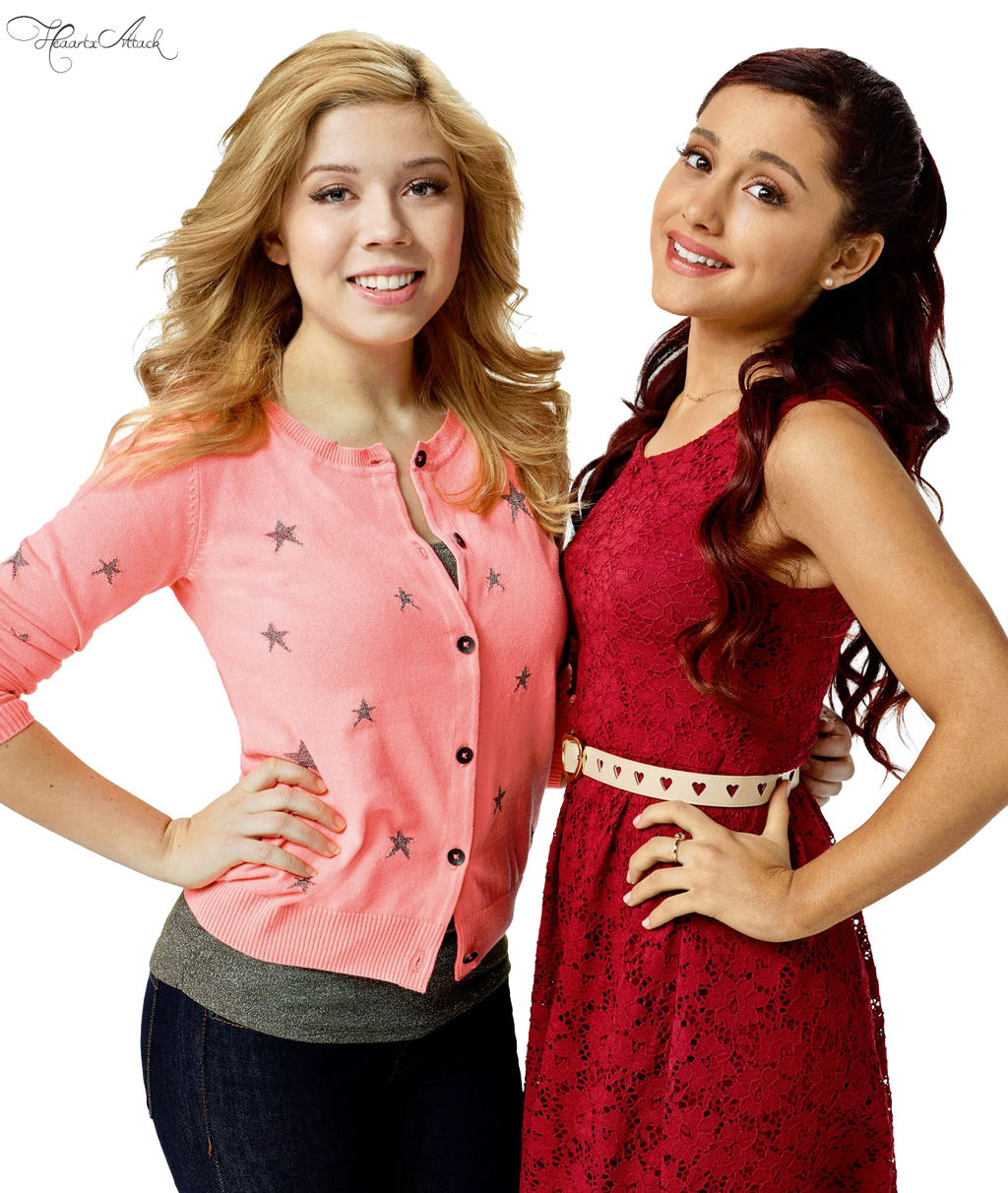 Ariana Grande and Jennette Mccurdy PNG by HeaartxAttack