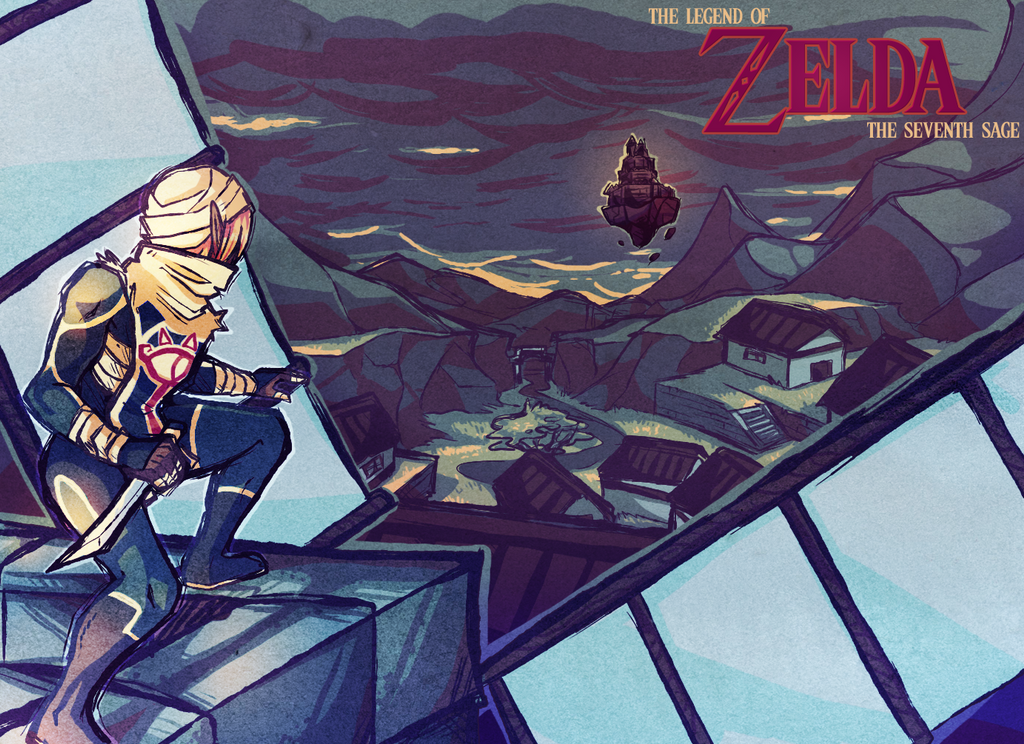 Legend of Zelda: The Seventh Sage by Duckstapler