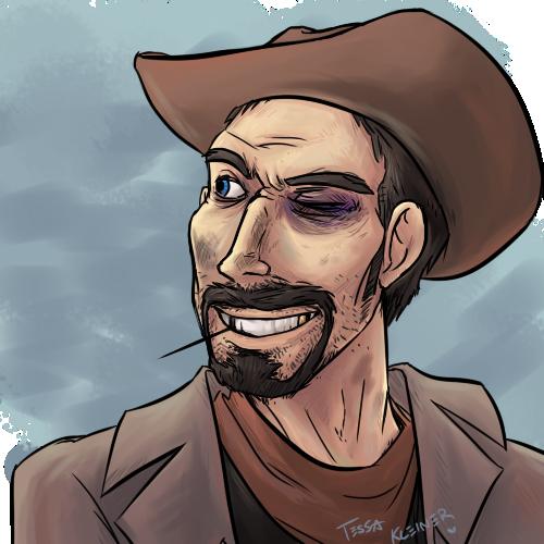 I just really like cowboys by JackxTessa
