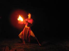 Firebending is in the Breath by HarmonicCosplay
