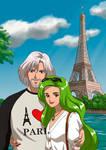 Esmerald and Diamond in Paris. By Katewind. by Gwarriorfanfic