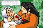 Sesshomaru Dies in Rin's Arms by Shizuru-Minamino