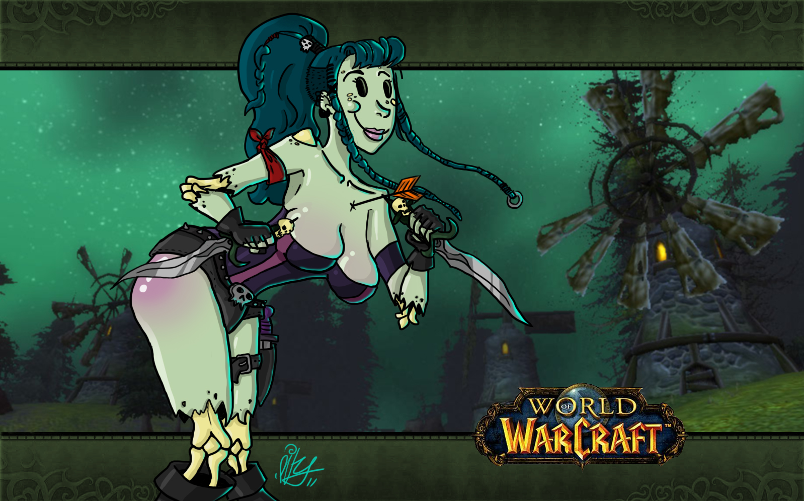 Undead wow art naked pic
