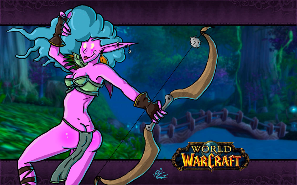 World of warcraft cartoon porn night elf