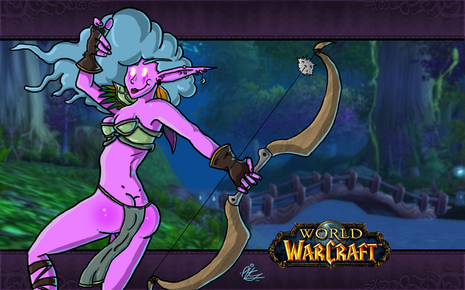 World of warcraft night elf titfuck nude photos