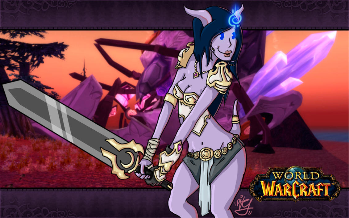 World of warcraft draenei nackt nsfw clips