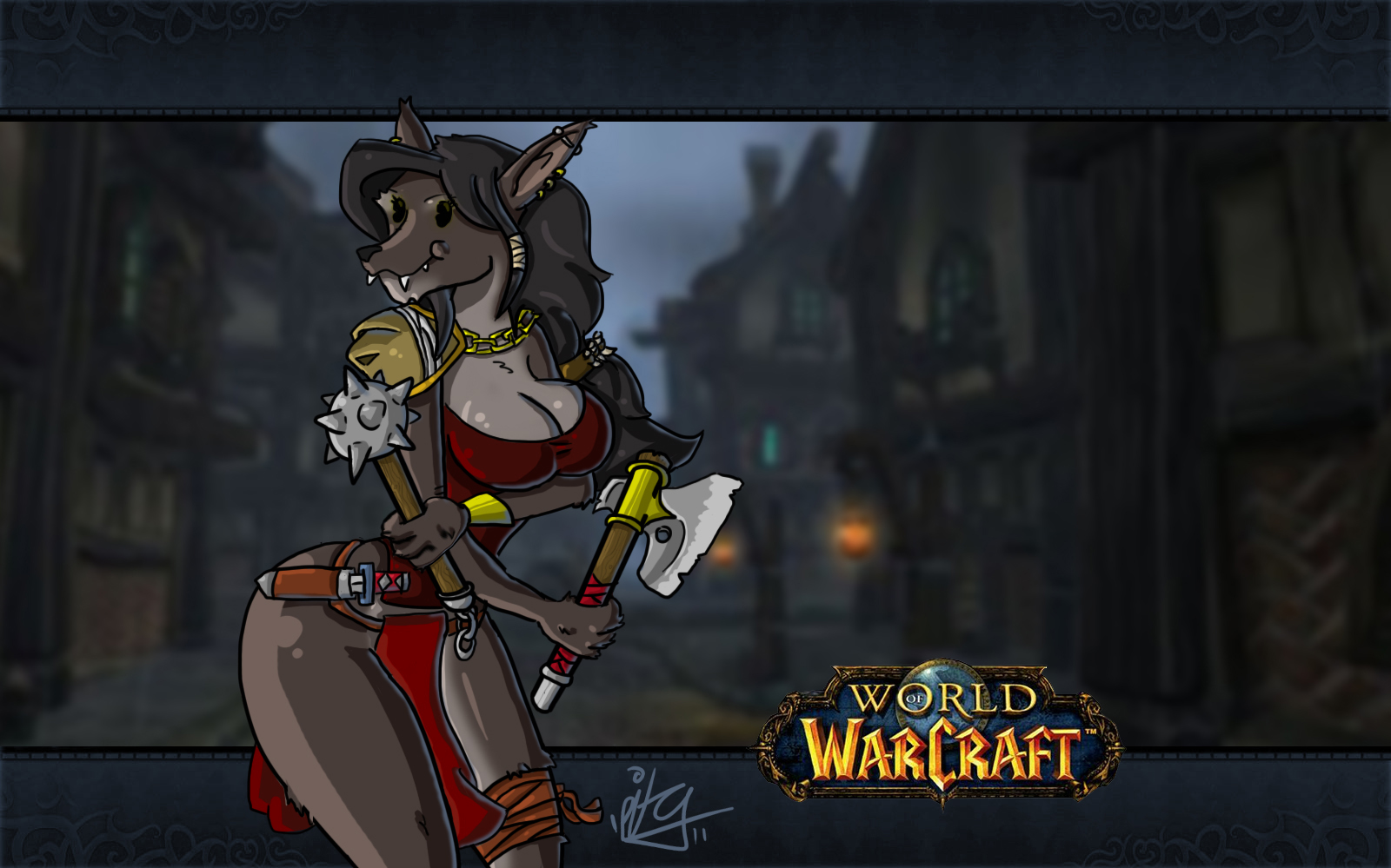 Tauren World of Warcraft sex nude pictures