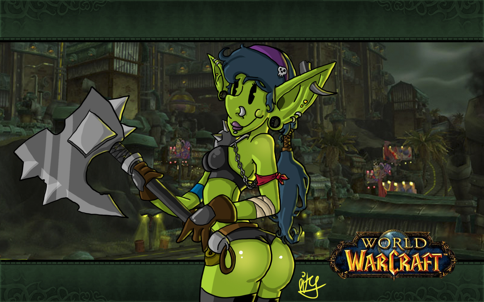 World of Warcraft orc flirts nude movies
