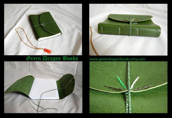 Green long stitch by BlueShadowM
