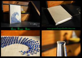 Blue wave notebook by BlueShadowM