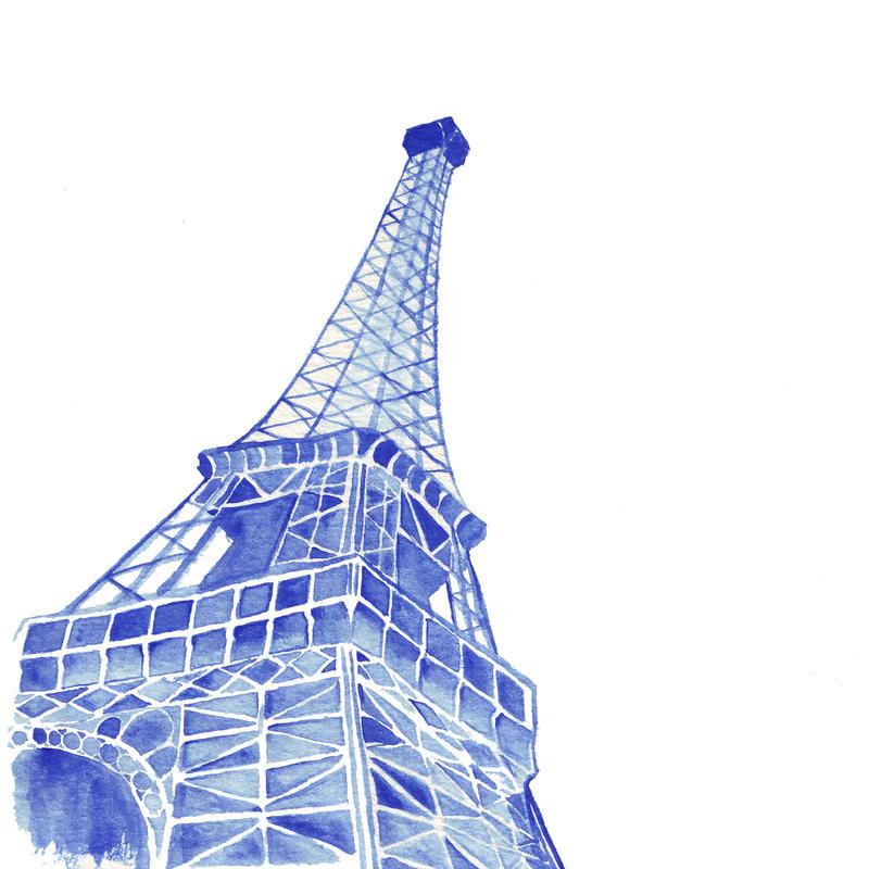 Eiffel Tower by BlueShadowM