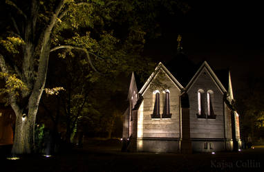 The chapel on the east graveyard by BlueShadowM
